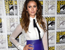 Nina Dobrev in J. Mendel | Comic-Con 2014: 'Let's Be Cops' Press Line