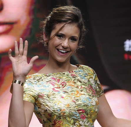 Nina Dobrev in Moschino | LUX Beijing Fan Meeting Event