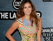 Nina Dobrev in Naeem Khan | Comic-Con 2014: Crave Conquers The Con Party
