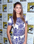 Nina Dobrev in Naeem Khan | Comic-Con 2014: 'The Vampire Diaries' Press Line