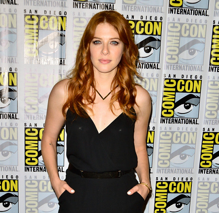 Rachelle Lefevre in AQUA | Comic-Con 2014: 'Under The Dome' Press Line