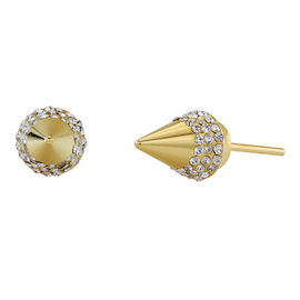 Vita Fede Titan Crystal Stud Earrings