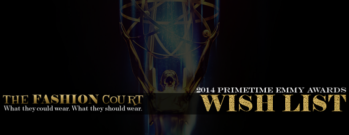 2014 Primetime Emmy Awards - WISH LIST