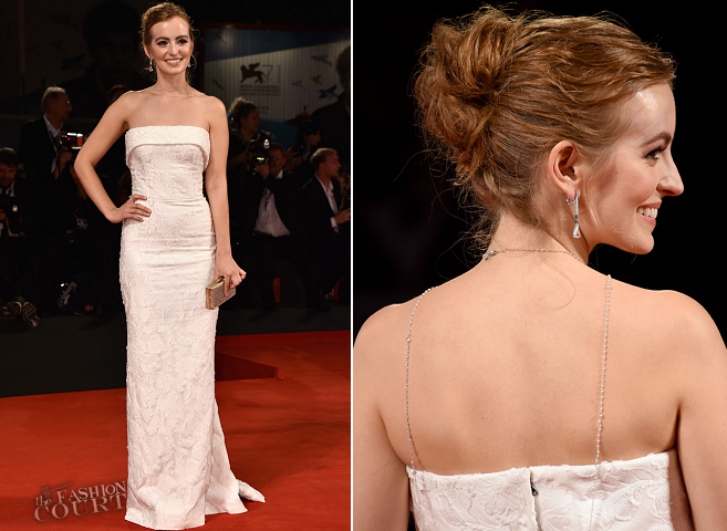 Ahna O'Reilly in Dolce & Gabbana | 'She's Funny That Way' Premiere - 2014 Venice Film Festival