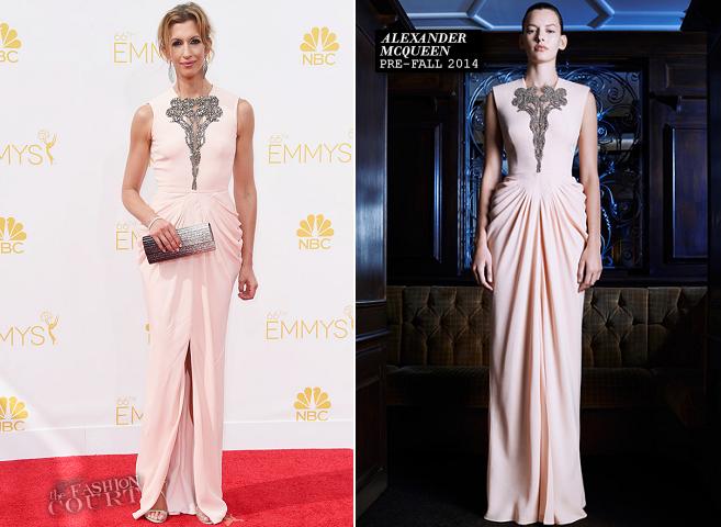 Alysia Reiner in Alexander McQueen | 2014 Emmys