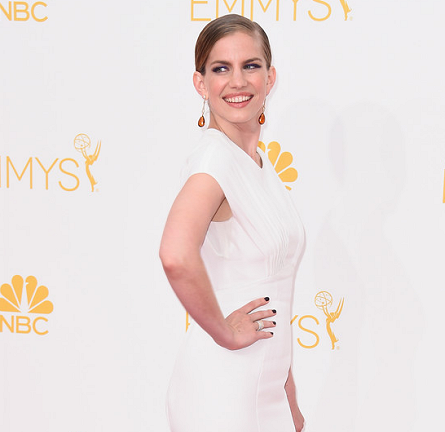 Anna Chlumsky in Zac Posen | 2014 Emmys