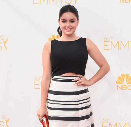 Ariel Winter in Black Halo EVE | 2014 Emmys