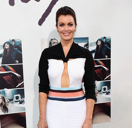 "Bellamy Young in BCBGMAXAZRIA | ""If I Stay"" Hollywood Premiere"