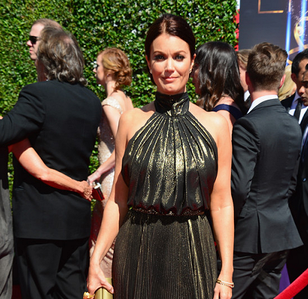 Bellamy Young in Naeem Khan | 2014 Creative Arts Emmy Awards