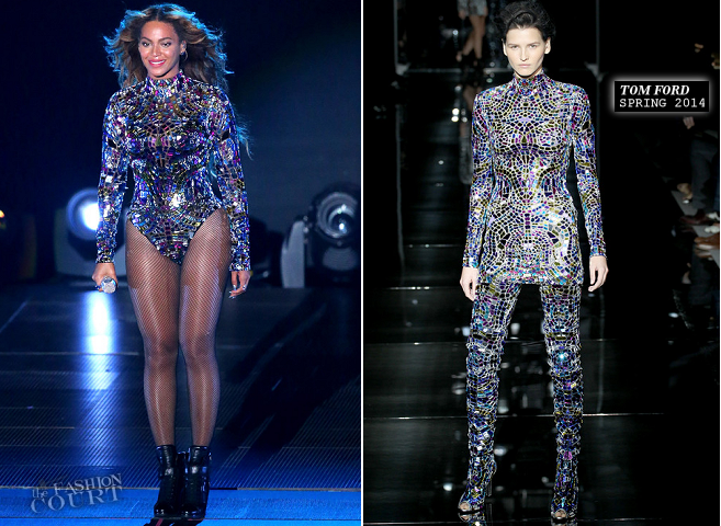 Beyoncé in Tom Ford | 2014 MTV Video Music Awards
