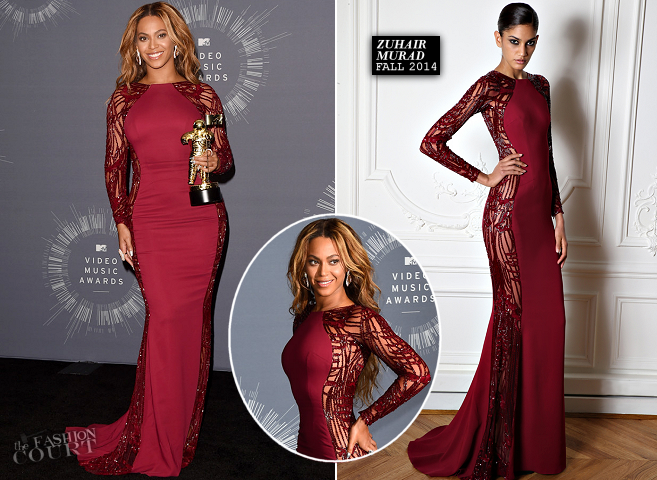 Beyoncé in Zuhair Murad | 2014 MTV Video Music Awards