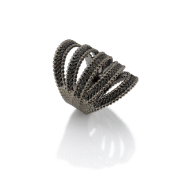 Carla Amorim Black Diamond Ring