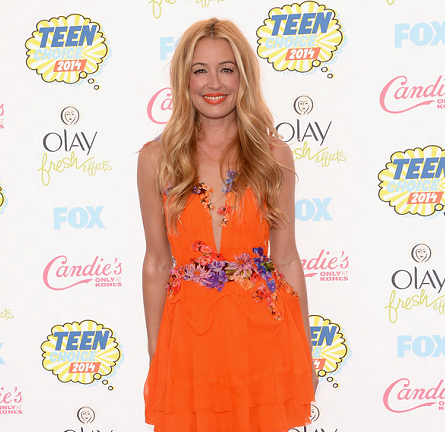Cat Deeley in Alberta Ferretti | 2014 Teen Choice Awards