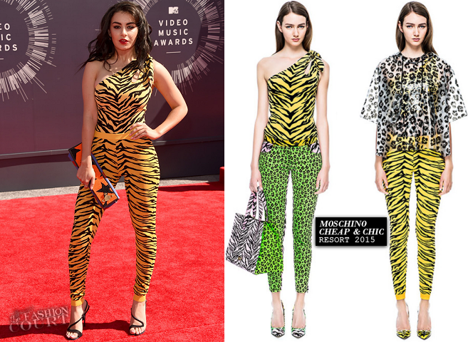 Charli XCX in Moschino Cheap & Chic | 2014 MTV Video Music Awards