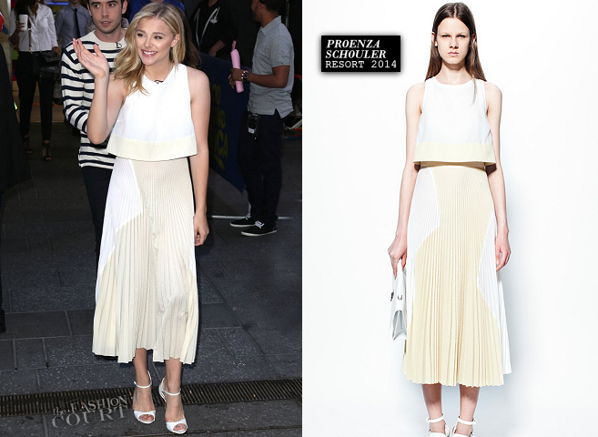 Chloë Grace Moretz in Proenza Schouler | 'Good Morning America'