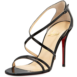 Christian Louboutin Gwynitta 100mm Open-Toe Sandals