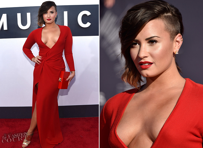 Demi Lovato in Lanvin | 2014 MTV Video Music Awards