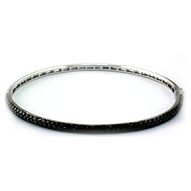 EFFY Jewelry Black Diamond Bangle