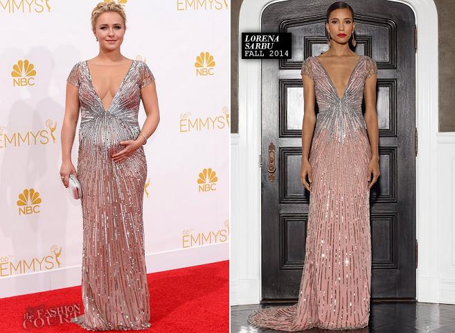 Hayden Panettiere in Lorena Sarbu | 2014 Emmys