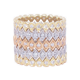 Jamie Wolf Mixed Metal Stacking Rings