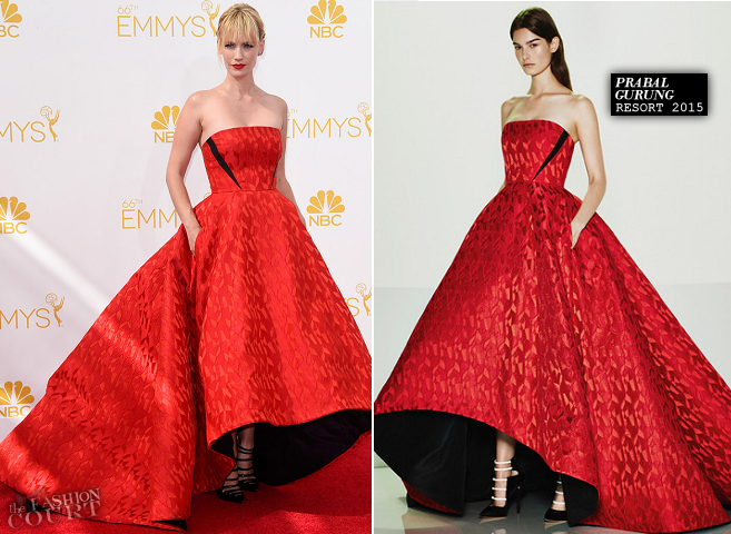 January Jones in Prabal Gurung | 2014 Emmys