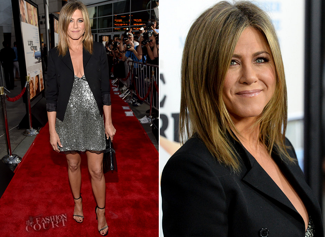 Jennifer Aniston in Saint Laurent | 'Life Of Crime' Hollywood Premiere