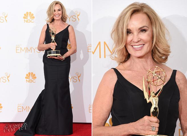 Jessica Lange in J. Mendel | 2014 Emmys
