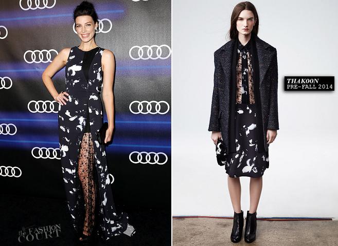 Jessica Pare in Thakoon | Audi Celebrates Emmys' Week 2014