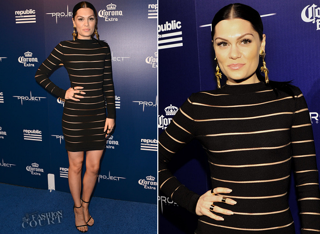 Jessie J in Balmain | Republic Records Official MTV VMA Afterparty