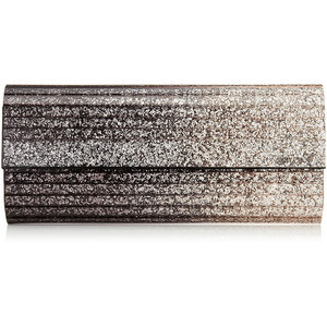 Jimmy Choo 'Sweetie' Degrade Glitter Acrylic Clutch