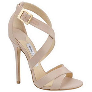 Jimmy Choo 'Xenia' Sandals in Nude