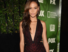 Joan Smalls in J. Mendel | FOX's 2014 Emmys Party
