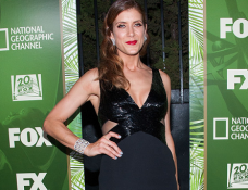 Kate Walsh in Lorena Sarbu | FOX's 2014 Emmys Party