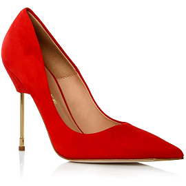 Kurt Geiger London BRITTON Red Suede Pumps