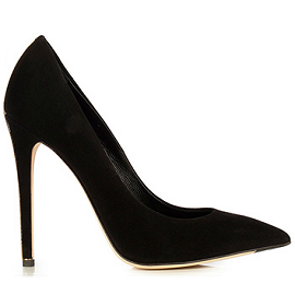Le Silla Suede Pointed Toe Pumps