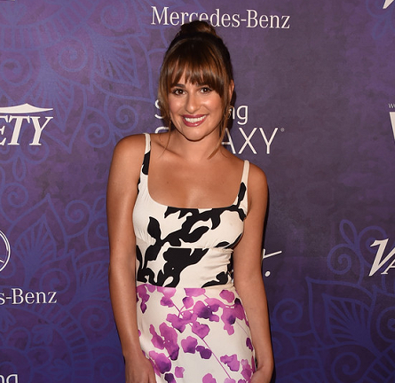 Lea Michele in Narciso Rodriguez | Variety and WIF Emmy Nominee Party 2014