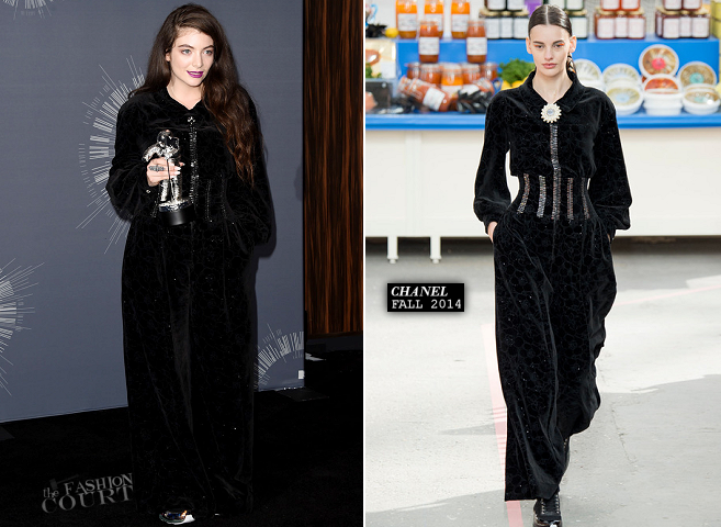 Lorde in Chanel | 2014 MTV Video Music Awards