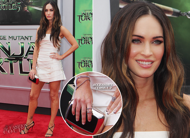 Megan Fox in Marc Jacobs | 'Teenage Mutant Ninja Turtles' LA Premiere