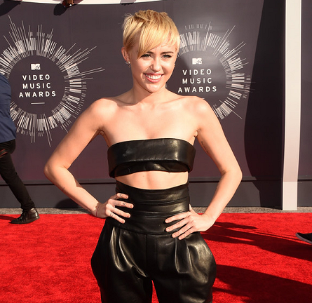 Miley Cyrus in Alexandre Vauthier Couture | 2014 MTV Video Music Awards