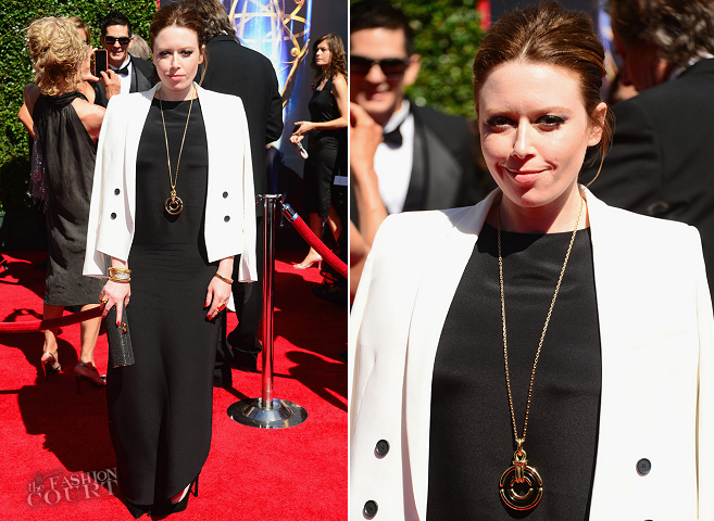 Natasha Lyonne in Calvin Klein | 2014 Creative Arts Emmy Awards