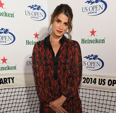 Nikki Reed in Alice + Olivia | 2014 Heineken US Open Kick Off Party