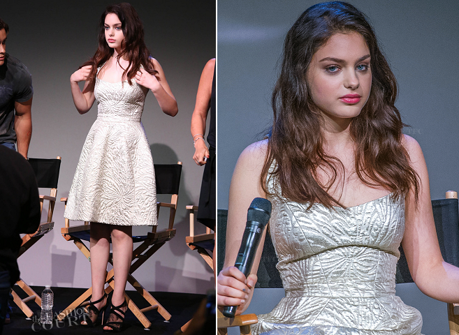 Odeya Rush in Monique Lhuillier | Meet the Filmmakers: 'The Giver'