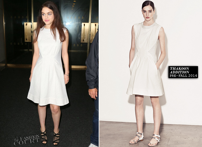Odeya Rush in Thakoon Addition | 'The Today Show'