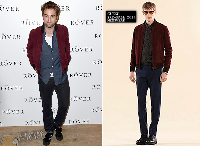 Robert Pattinson in Gucci | 'The Rover' London Screening