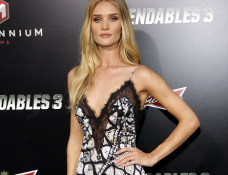Rosie Huntington-Whiteley in Emilio Pucci | 'The Expendables 3' Hollywood Premiere