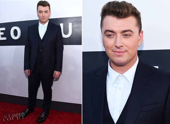 Sam Smith in Gucci | 2014 MTV Video Music Awards