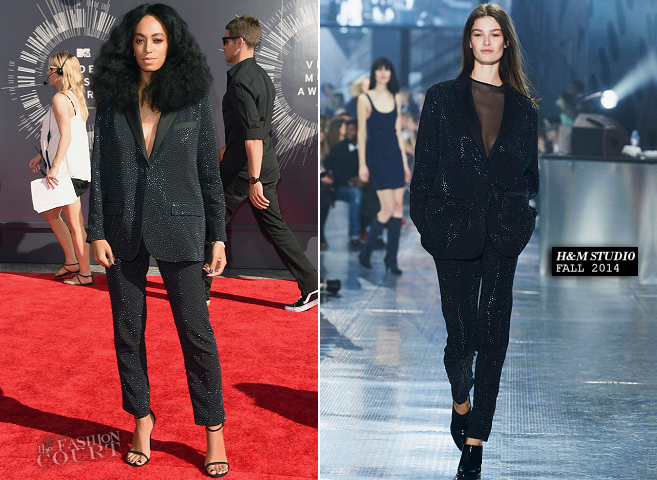 Solange Knowles in H&M Studio | 2014 MTV Video Music Awards