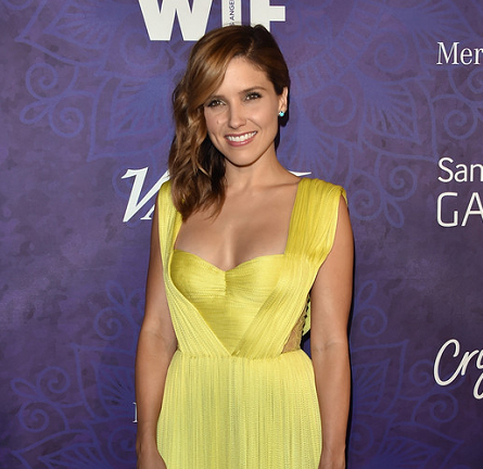 Sophia Bush in Maria Lucia Hohan | Variety and WIF Emmy Nominee Party 2014