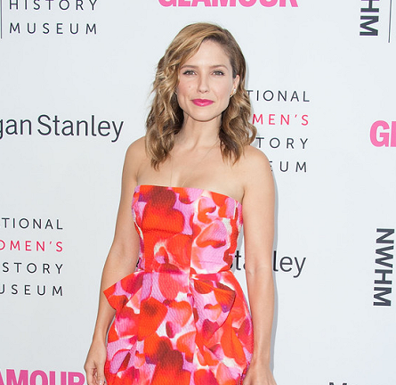 Sophia Bush in Monique Lhuillier | 2014 Women Making History Event