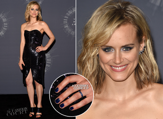 Taylor Schilling in Halston Heritage | 2014 MTV Video Music Awards